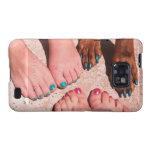 Peticure - día del balneario del Pedicure Samsung Galaxy S2 Carcasa