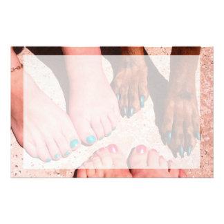 Peticure - día del balneario del Pedicure Papeleria Personalizada