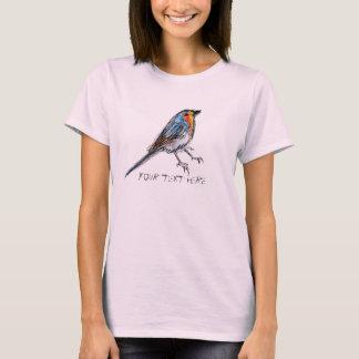 Petirrojo caprichoso poca camiseta de Birdy