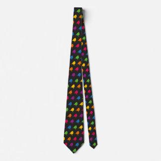 Petirrojo del arco iris corbata