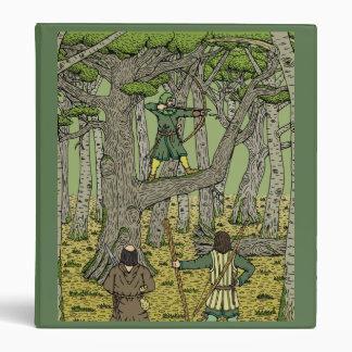 Petirrojo en la carpeta de Sherwood Carpeta 2,5 Cm