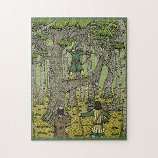 Petirrojo en Sherwood Puzzle