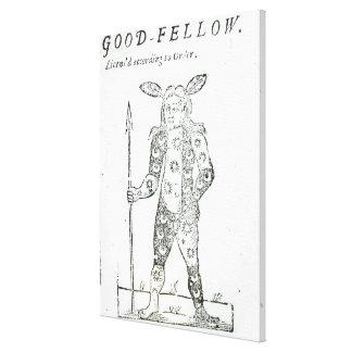 Petirrojo Goodfellow Impresión En Lona Estirada