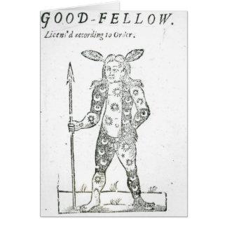 Petirrojo Goodfellow Tarjeta De Felicitación