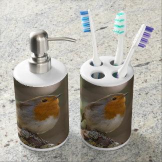 Petirrojo Vasos Para Cepillos De Dientes