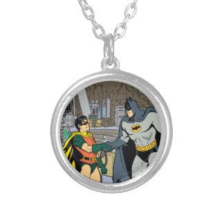 Petirrojo y apretón de manos de Batman Collares Personalizados