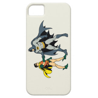 Petirrojo y apretón de manos de Batman Funda Para iPhone SE/5/5s