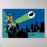 Petirrojo y subida de Batman Poster
