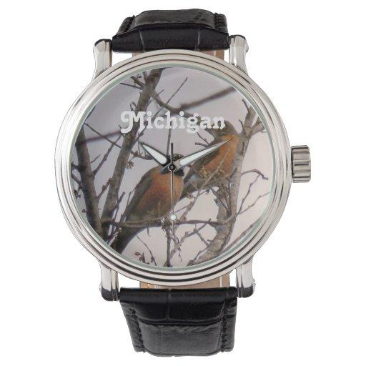 Petirrojos Reloj