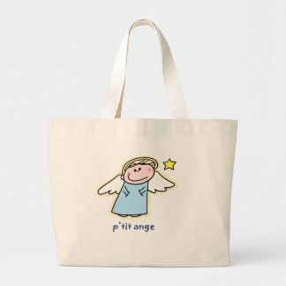 Petit Ange (little angel in French) Jumbo Tote Bag