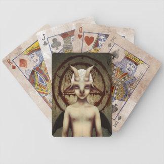 PETIT BAPHOMET Vintage Look Playing Card Set Bicycle Playing Cards