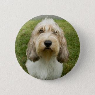 Petit Basette Griffon Vendeen Pinback Button