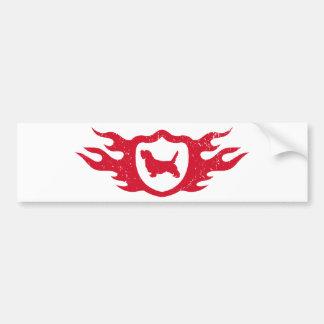 Petit Basset Griffon Vendeen Car Bumper Sticker