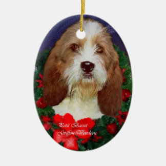 Petit Basset Griffon Vendeen Christmas Ornament