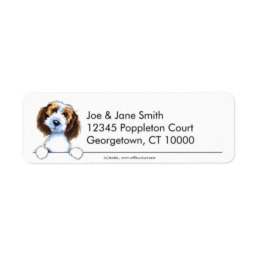 Petit Basset Griffon Vendeen Clean & Simple Return Address Labels