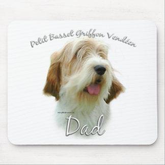 Petit Basset Griffon Vendeen Dad 2 Mouse Pad