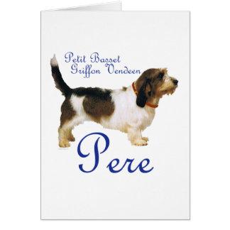 Petit Basset Griffon Vendeen Father Card