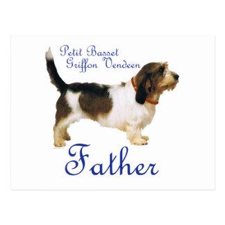 Petit Basset Griffon Vendeen Father Postcard
