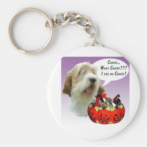 Petit Basset Griffon Vendéen Halloween Candy Key Chains