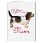 Petit Basset Griffon Vendeen Mother Greeting Cards