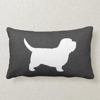 Petit Basset Griffon Vendeen PBGV Silhouette Pillow