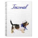 Petit Basset Griffon Vendeen Sailor Note Book