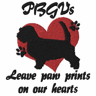 Petit Basset Griffon Vendeens Leave Paw Prints