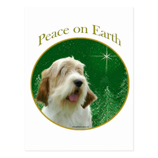 Petit Basset Griffon Venden Peace Post Cards