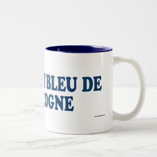 Petit Bleu De Gascogne Blue Two-Tone Coffee Mug