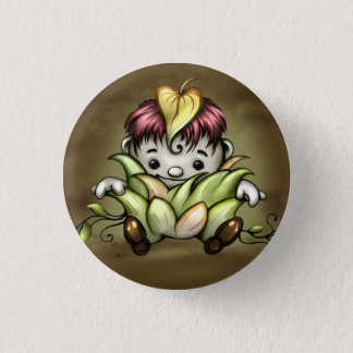 PETIT CHOU CUTE CARTOON Small, 1¼ Inch Button
