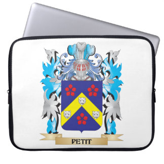 Petit Coat of Arms - Family Crest Computer Sleeve