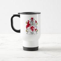 Petit Family Crest Mug