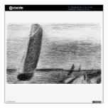 """Petit-Fort-Philippe by Georges Seurat 11"""" MacBook Air Decal"""