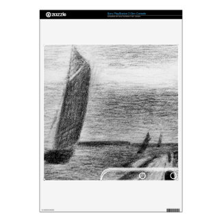 Petit-Fort-Philippe by Georges Seurat Skin For PS3 Slim
