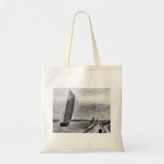 Petit-Fort-Philippe by Georges Seurat Tote Bag
