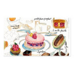 Petit Four Etude Double-Sided Standard Business Cards (Pack Of 100)