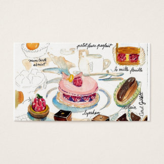 Petit Four Etude Business Card