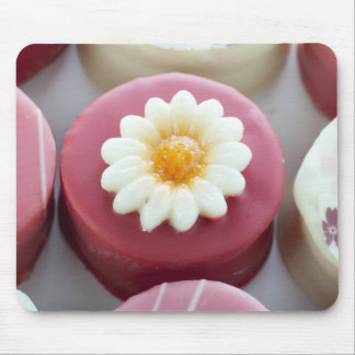 Petit Four with Flower Mousepad