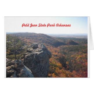 Petit Jean State Park Arkansas Card