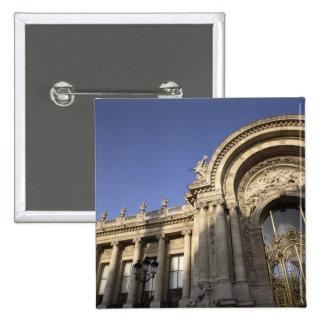 Petit Palais. Paris. France 2 Inch Square Button