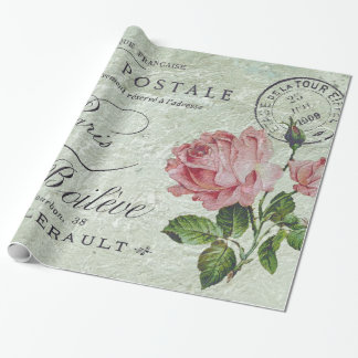 Petit Rose Confection Wrapping Paper