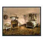Petit Trianon, chamber of Marie Antoinette, Versai Postcards