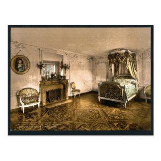Petit Trianon, chamber of Marie Antoinette, Versai Postcards