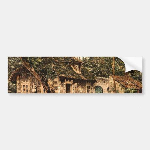Petit Trianon, the diary (i.e., dairy), Versailles Car Bumper Sticker
