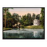 Petit Trianon, the Pavillion and the Rock of Marie Postcards