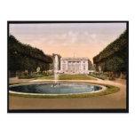 Petit Trianon, Versailles, France classic Photochr Postcard