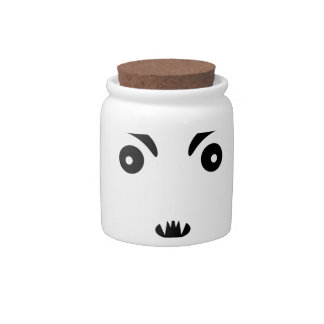 Petit Vampire Cartoon Illustration Candy Jars