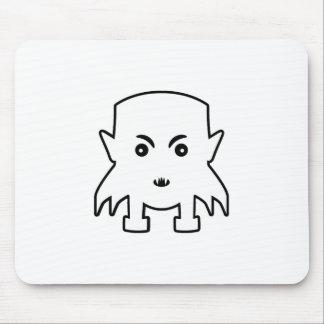 Petit Vampire Cartoon Illustration Mouse Pad