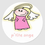 Petite Ange (little angel in French) Sticker