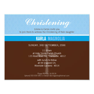 PETITE BAPTISM INVITE :: peace 4 L